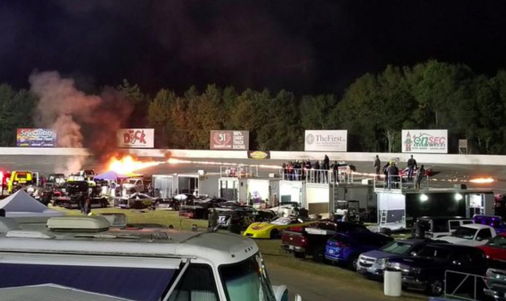 Szörnyű baleset történt a Five Flags Speedwayen