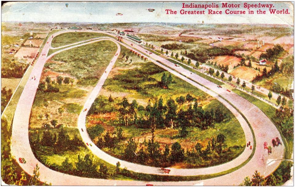 Ilyennek képzelték el az IMS road vonalvezetését 110 évvel ezelőtt