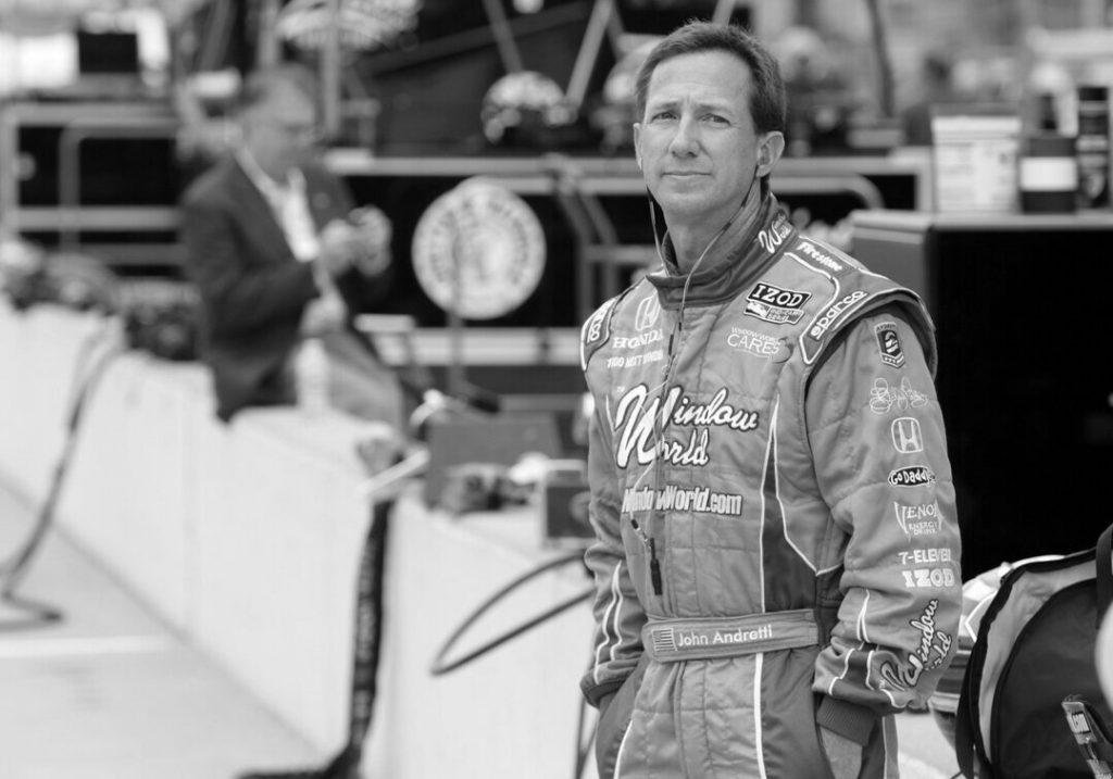 Elhunyt John Andretti