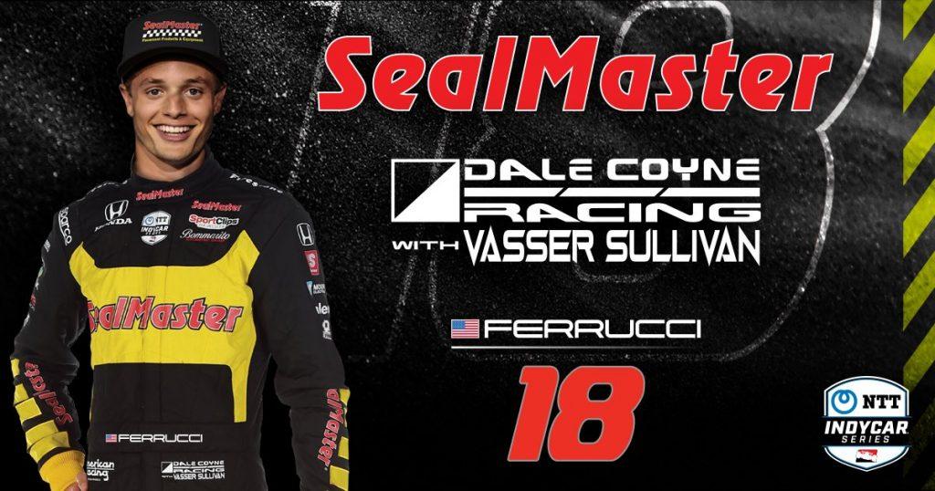 HIVATALOS: Santino Ferrucci marad a Dale Coyne Racingnél