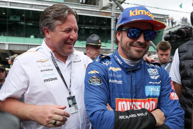 A McLaren 2021-ben is versenyeztetné Alonsót az Indy 500-on