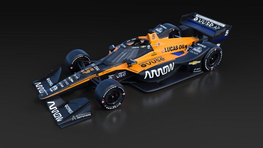 Ilyen lett a McLaren 2020-as IndyCar-autója