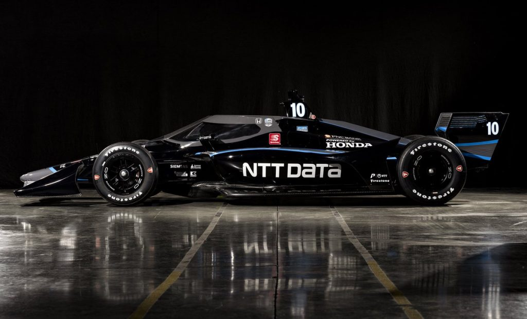 Leleplezték Felix Rosenqvist idei IndyCar-gépét