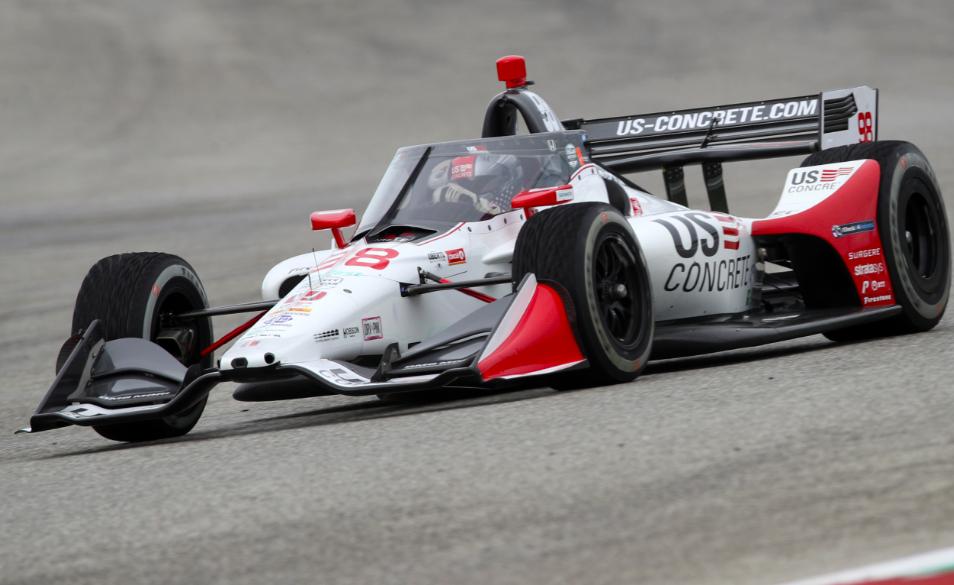 Marco Andretti beiraktozik egy versenyzőiskolába