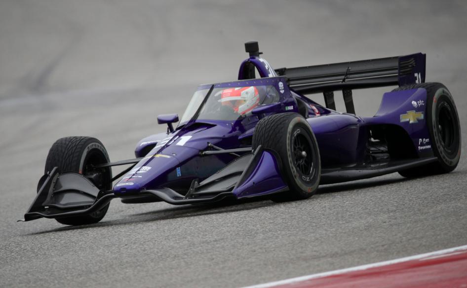 A hullafáradt Felipe Nasr zárta az élen az IndyCar sebringi tesztjét