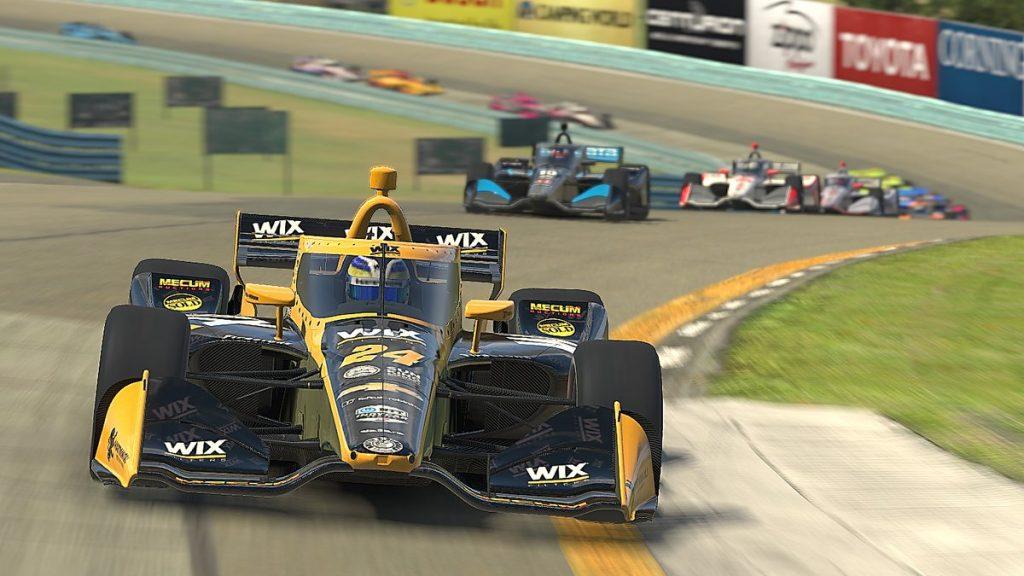 Sage Karam nyerte az IndyCar virtuális szezonnyitóját