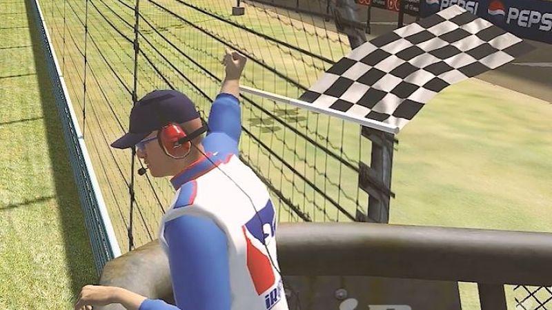 """Ez kész: A NASCAR igazi """"zászlós embere"""" is lerótta tiszteletét iRacinges hőse előtt!"""