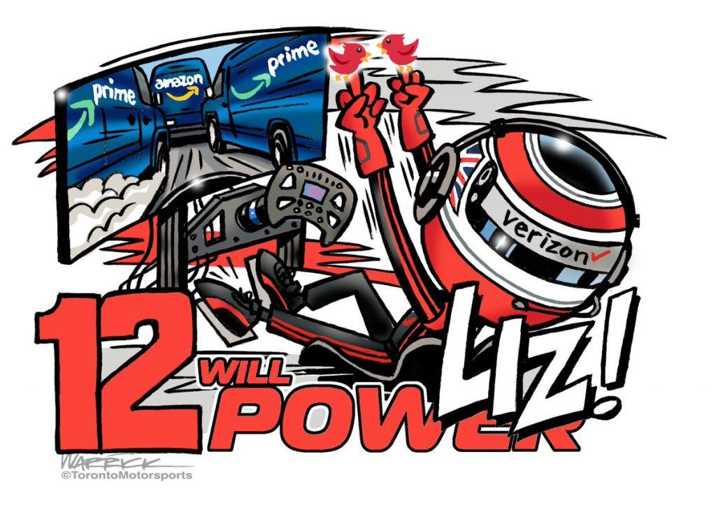 Az eSportba belevágó Liz Power karikatúrájánál ma már nem látsz viccesebbet