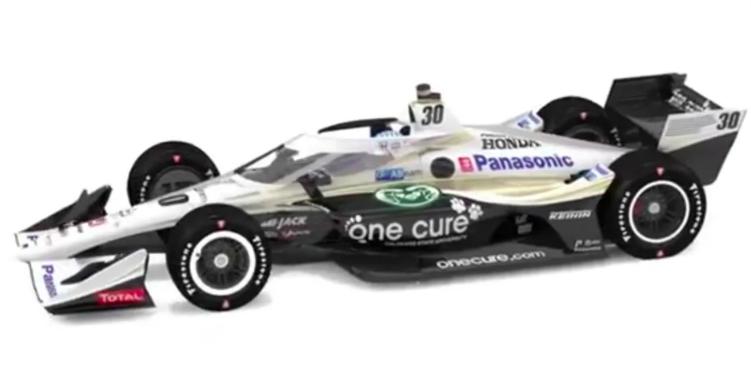 Ilyen autóval száll harcba Sato az IndyCar történelmi, indianapolisi futamán
