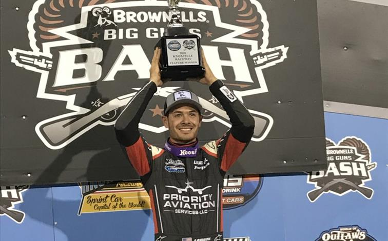 Egy hét alatt öt versenyt nyert Kyle Larson