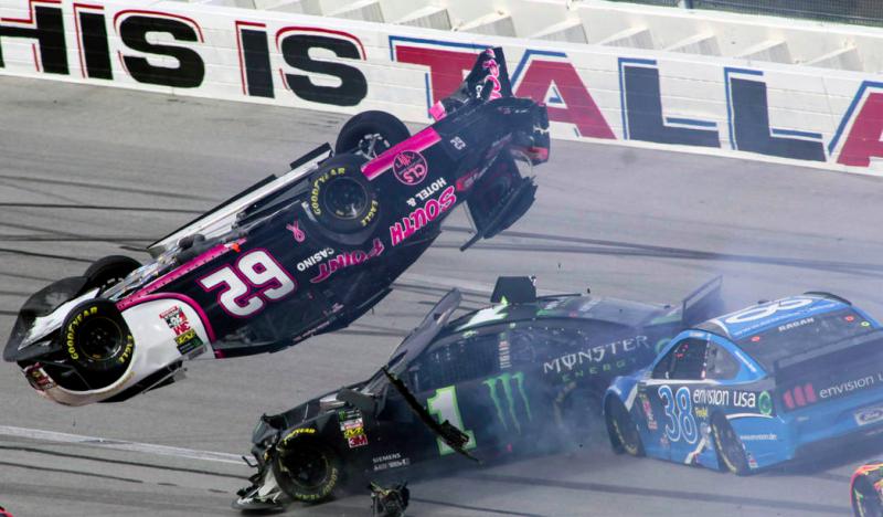 Mégsem rendeznek szabadedzést a NASCAR Cup talladegai versenye előtt