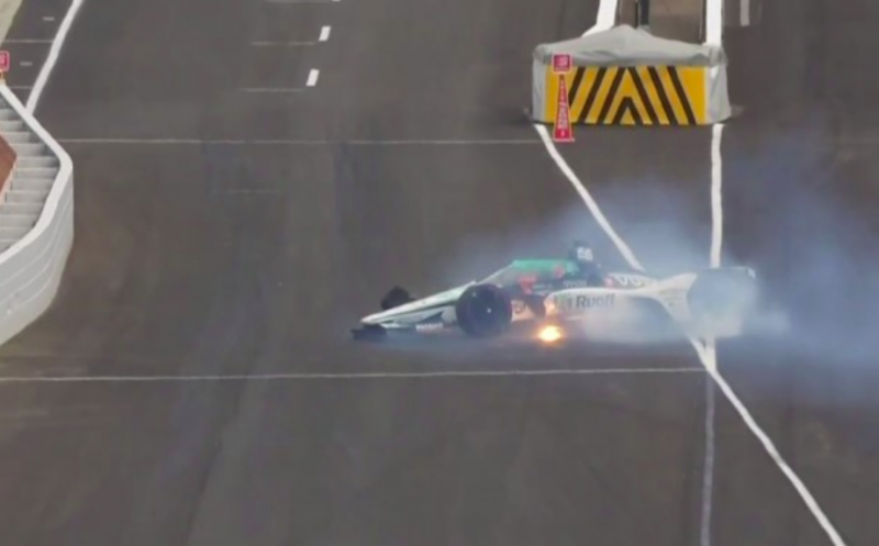 Indy 500: Alonso összetörte a McLarent