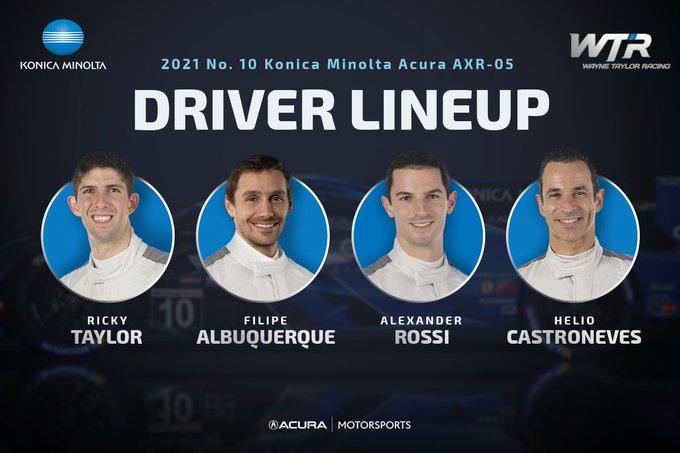 IMSA: Castronevesszel és Rossival erősít a Wayne Taylor Racing