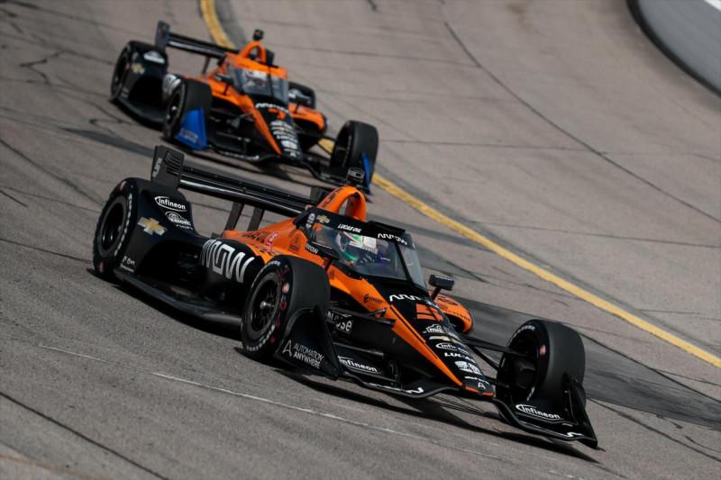 A COVID miatt esett kútba Jenson Button IndyCar-debütálása