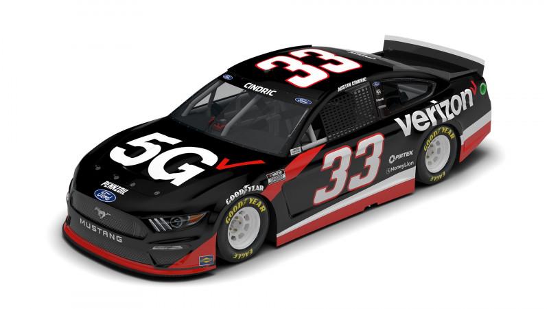 NASCAR: A Verizon lesz Austin Cindric főszponzora a Daytona 500-on
