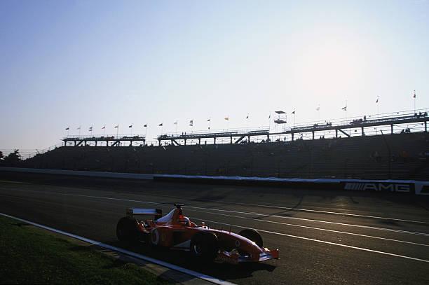 A nap, amikor Michael Schumacher befizetett egy NASCAR-élményautózásra