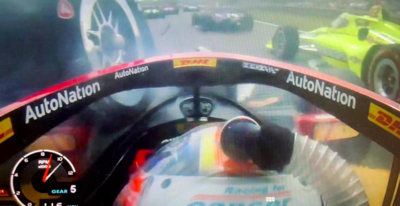 IndyCar: Ismét életet mentett az aeroscreen
