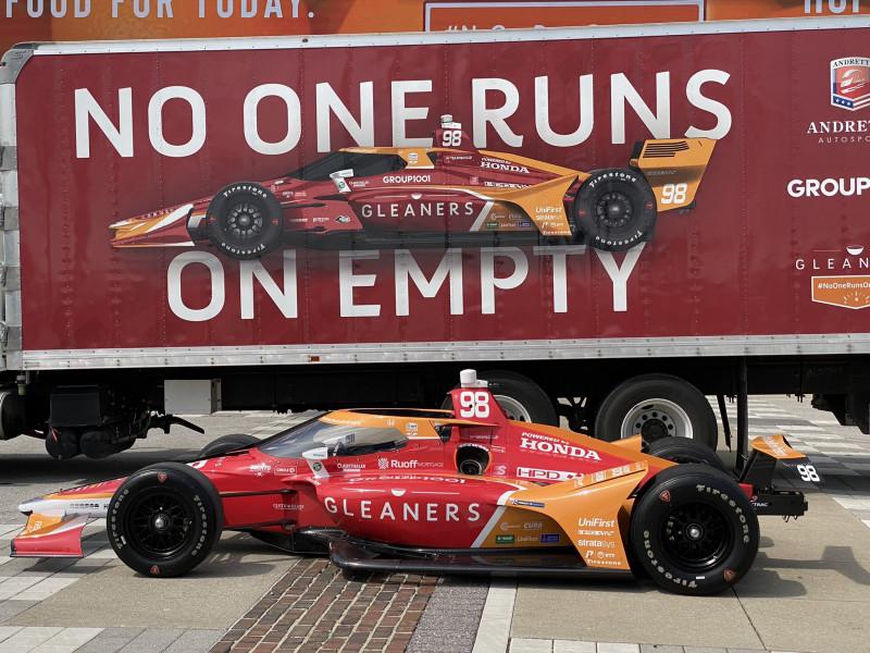 Indy 500: Az éhezés ellen kampányol Marco Andretti