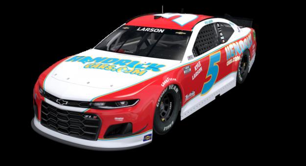 NASCAR: Családja és karrierje kezdete előtt tiszteleg Kyle Larson Darlingtonon