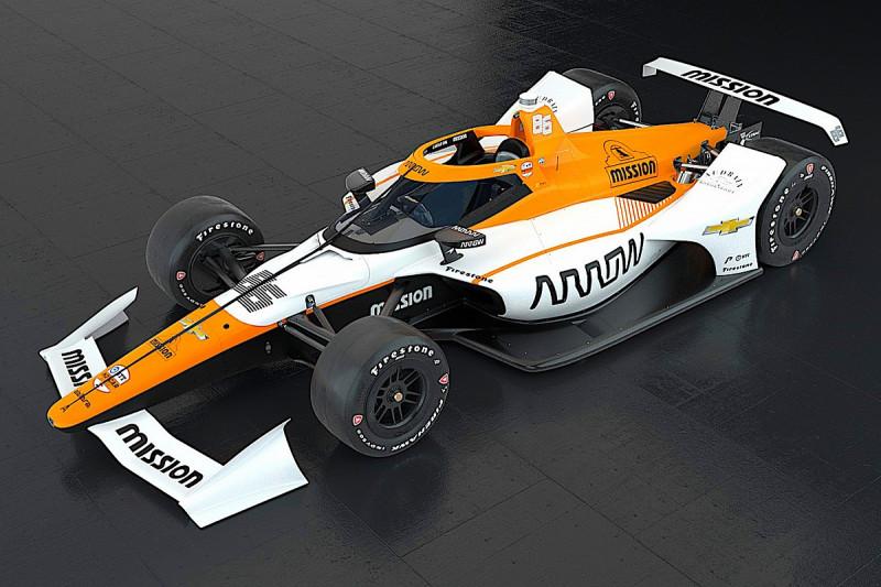 Indy 500:A McLaren leleplezte Juan Pablo Montoya versenygépét