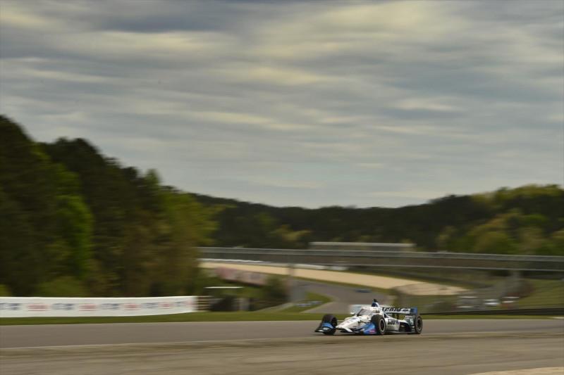 IndyCar: Rahal az élen Grosjean előtt a bemelegítő edzésen