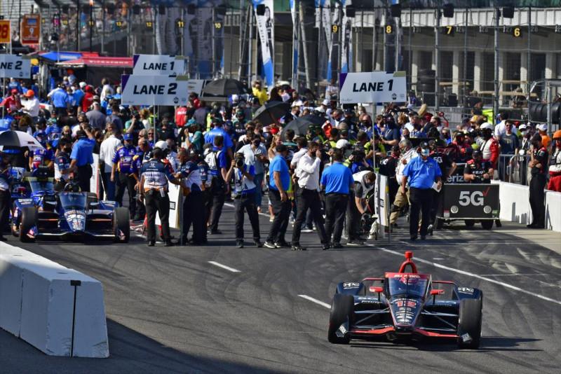 Indy 500: A CGR egy baleset ellenére is dominált, Will Power egyelőre NINCS a mezőnyben
