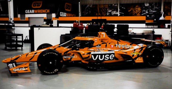 Nagymacskaként fog tündökölni a McLaren versenygépe Indianapolisban