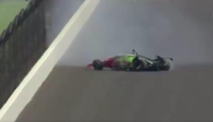 Indy 500: Súlyos balesetet szenvedett Santino Ferrucci