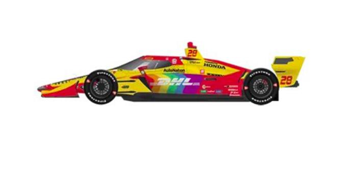 IndyCar: Pride-zászlóba öltöztetik Hunter-Reay autóját Detroitban és Road Americán