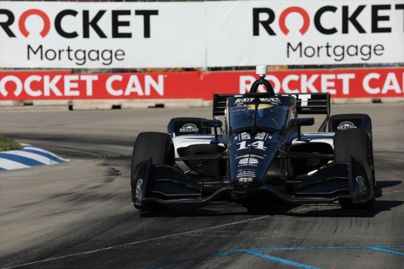 IndyCar: Életveszélyessé válhat az aeroscreen utcai pályán