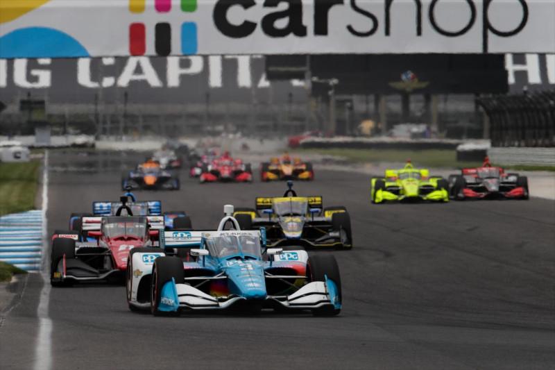 Az IndyCar módosíthatja a kék zászlókra vonatkozó szabályt