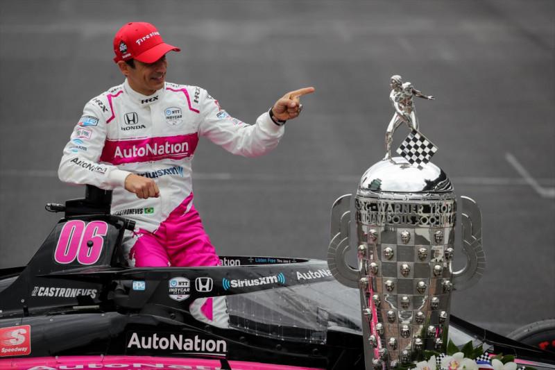 Castroneves: Még akár hatszoros Indy 500-győztes is lehetek
