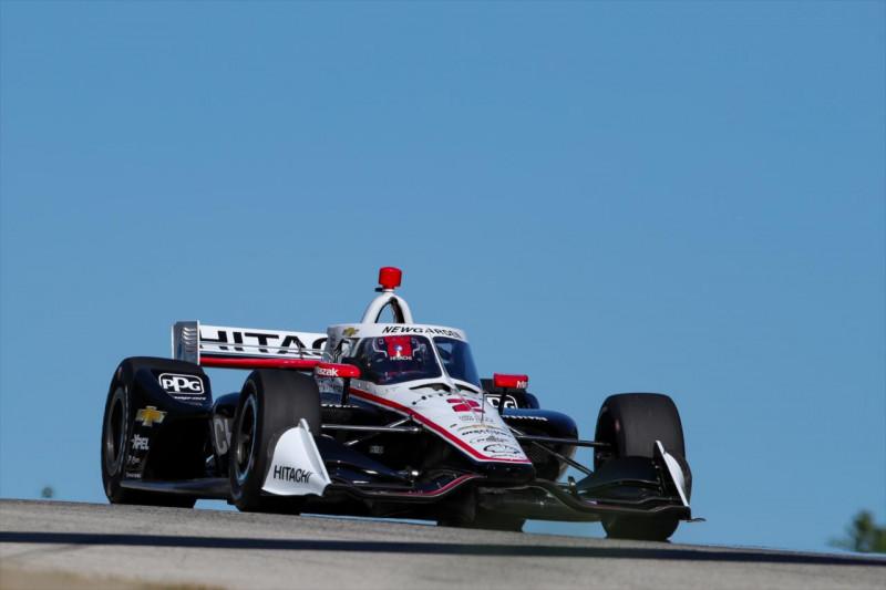 IndyCar: Newgarden húzta be a második edzést Road Americán