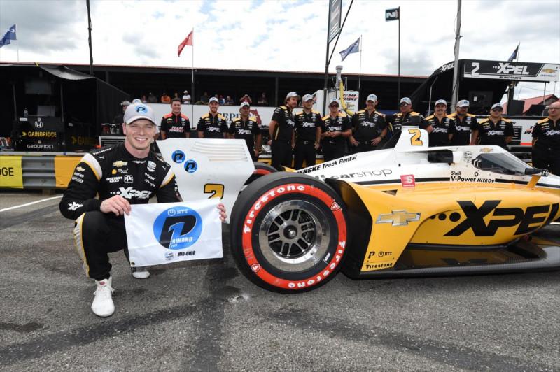 IndyCar: Zsinórban harmadik pole-ját szerezte Josef Newgarden