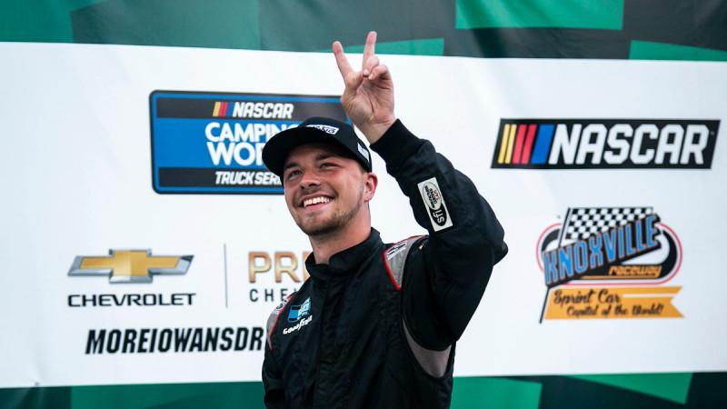 Kiengedték a kórházból a súlyos balesetet szenvedett NASCAR-újoncot