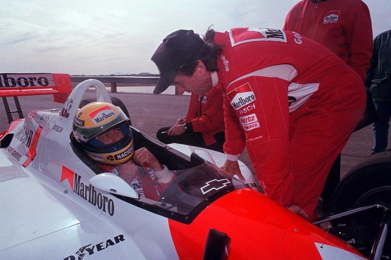 Ayrton Senna az amerikai versenypályákon képzelte el a jövőjét