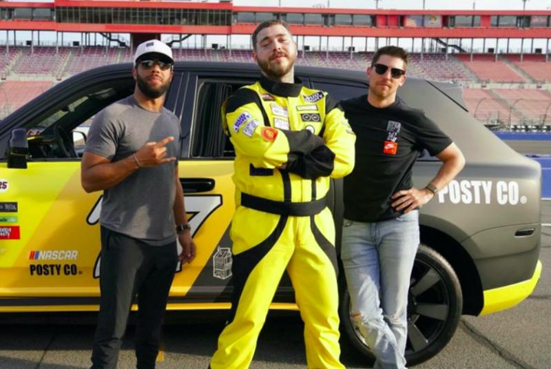 Megérkezett Post Malone NASCAR-klipje