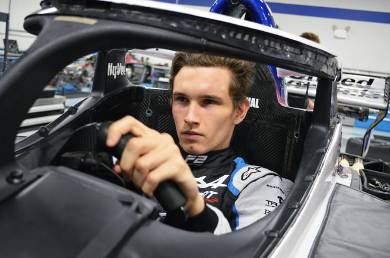 Christian Lundgaard bemutatkozik az IndyCarban