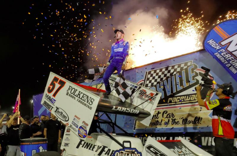Megállíthatatlan: Kyle Larson megnyerte a sprint carok Indy 500-át