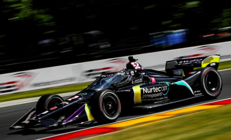 IndyCar: Alex Albon máris bepattant a DCR/RWR versenygépébe