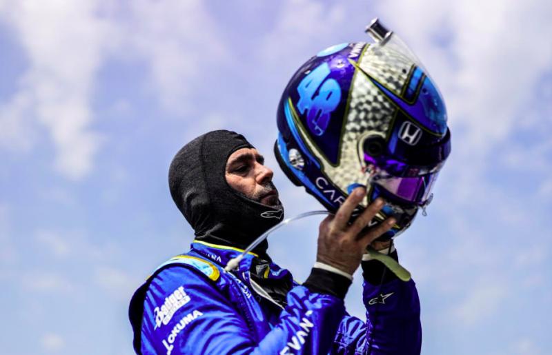 Johnson: Addig maradok az IndyCarban, ameddig Ganassi és a szponzorok akarják