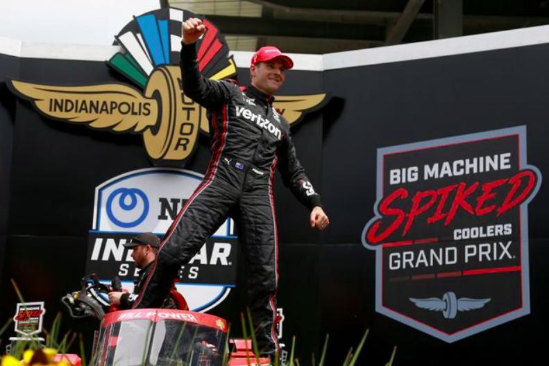 IndyCar: Power megszerezte 40. győzelmét, Palou számára viszont drámába fulladt a Big Machine GP