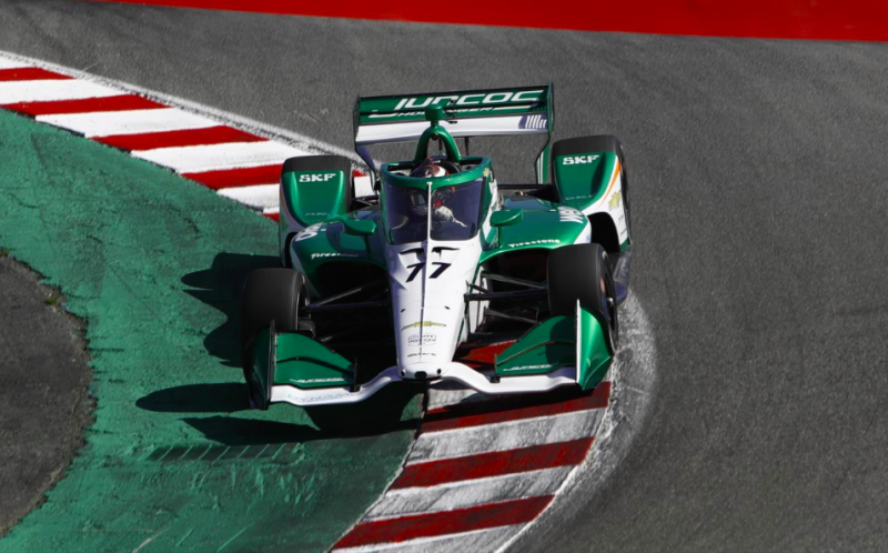 IndyCar: Nagyot bukott Callum Ilott Laguna Secán, veszélyben a versenyen való indulása