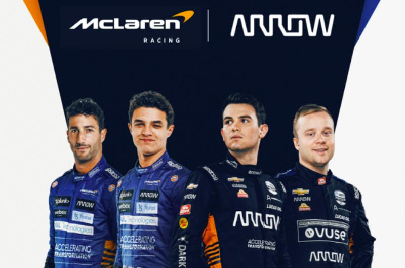 Az Arrow Electronics 2028 végéig hosszabbított a McLarennel