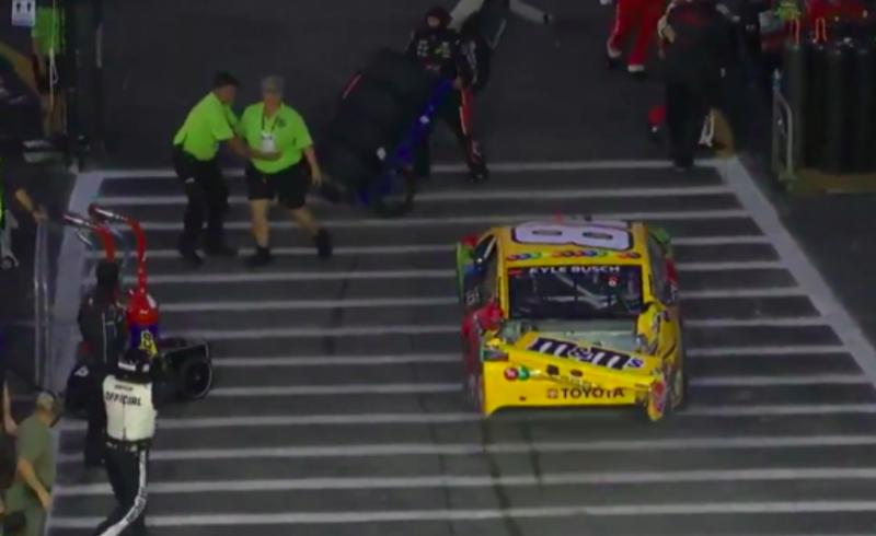 NASCAR: Gondatlan veszélyeztetés miatt megbüntették Kyle Buscht