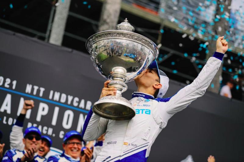 Fenomenális Palou – Először avatott spanyol bajnokot az IndyCar