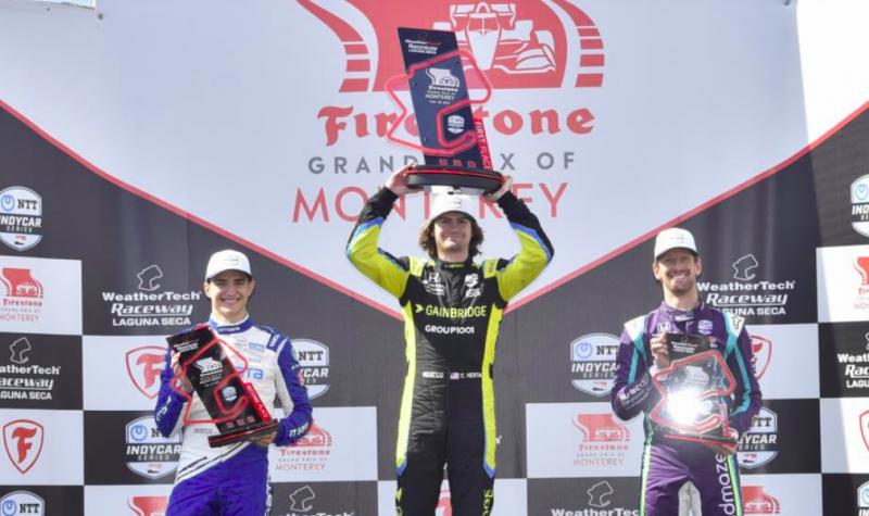 IndyCar: Herta dominált, Palou növelte előnyét, Grosjean pedig szárnyalt Laguna Secán