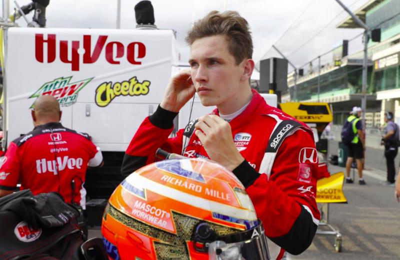 IndyCar: Christian Lundgaard több évre aláírt az RLL Racinghez